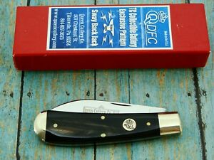 QUEEN DFC USA TC #01 BUFFALO HORN SWAY BACK WHARNCLIFF POCKET KNIFE KNIVES NOS