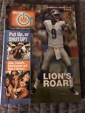 The BLITZ IT'S ON Magazine Detroit Area Sports September 2010 Lions UM VG