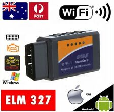 ELM327 WiFi Scanner OBD2 Car Engine Scan Tool Code Reader Android iPhone iOS OZ