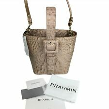 $265 NWT Brahmin Faith Ombre Chiffon Top Handle Leather Crossbody Wristlet Purse