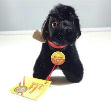"New Vintage Steiff ""Blacky"" Black Poodle #1532,12*"