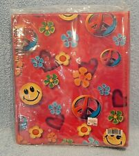 Vintage *Hippie Girl Funky Girlz* 3 Ring Binder. Brand New Factory Wrapped