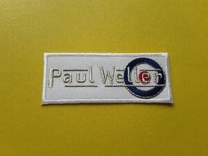 Paul Weller The Jam Patch Embroidered Iron On Or Sew On Badge