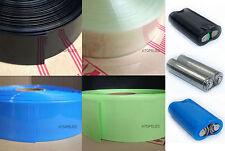 17MM-103MM breites PVC Heat Shrink Tubing Wrap Lipo Li-Ion NiCd RC Akku Pack