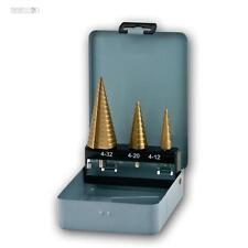 passo hss trapano 3 pezzi, 4 FINO 12mm,4 20mm,4 32mm, Punta trapano, fresatura
