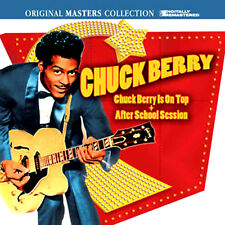 CHUCK BERRY ~ IS ON TOP +AFTER SCHOOL SESSION NEW  2CD ROCK AND ROLL HITS + MORE