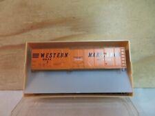 TRAIN MINIATURE HO SCALE CUSTOM WM WESTERN MARYLAND RAILROAD BOX CAR #3