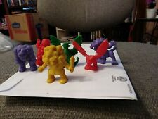 MONSTER IN MY POCKET MIMP Lot of 6 incl JOTUN TROLL Yellow GRIFFIN Pine Green +4