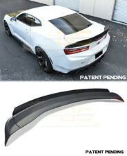 For 16-18 Chevy Camaro SS 1LE Rear Trunk Spoiler Wing Wicker bill Extended Style