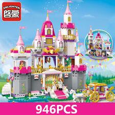 Enlighten Building Blocks Bricks Girls Friends Princess Angel Castle Celebration