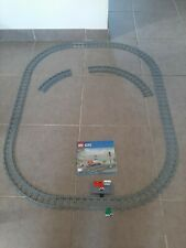 LEGO rails avec gare du  train 60197