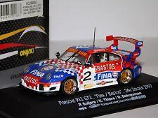 PORSCHE 911 GT2 FINA #2 ZOLDER 1997 SNIJERS ONYX XT99002 1/43