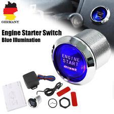 Universell Auto Motor Startknopf Druckschalter Drucktaster Zündung Starter Blau