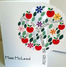 Thank you Teacher Card - Personalised