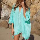 Women Summer Beach Beachwear Swimwear Bikini Wear Cover Up Kaftan Lady Dress HOT