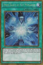 YU-GI-OH CARD: FROST BLAST OF THE MONARCHS - GOLD SECRET RARE PGL3-EN012 1ST ED