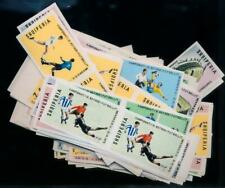 [G10366] Albania 1970 football good set very fine MNH imperf stamps (20x)