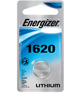 Energizer CR1620 Battery 3V Lithium Coin Cell CR1620 Batteries (1 Count)