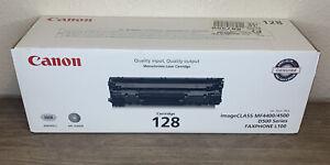 Canon Genuine 128 Black Toner Printer Cartridge For imageCLASS MF4500 New Sealed