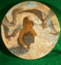 "Collector Plate ""Seashells"" by Thornton Utz. 4th in Precious Moments Collection"