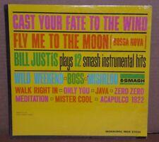 Bill Justis Plays 12 Smash Instrumental Hits vinyl LP record Sealed MONO cutout