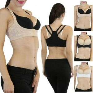 Instant Lift Underbust Bra - Increases Bust Size Instantly in Black & Beige