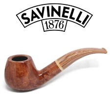 NEW Savinelli - Dolomiti Smooth - 645 - 9mm Filter Pipe