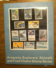 1973 Australian Antartic Explorers Aircraft & Food Chains Post Office Pack Ognh