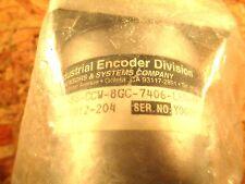 BEI ENCODER  924 01012 204  MODEL H25D SS CCW 8GC 7406 LED SM 18 5 V DC  NOS