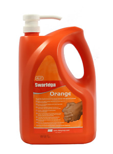 Deb Swarfega Orange SOR4LMP Heavy Duty Hand Cleaner 4L Pump Top