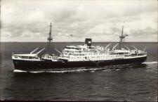Steamship MV Tjitjalengka - Royal Interocean Lines Real Photo Postcard