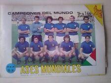 RARE Album Futbol/Soccer 105//106 Cards ASES MUNDIALES ´80s/  Venezuela  5