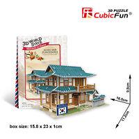 CubicFun Mini 3D Puzzle World Style Series 10 Korea Pastry Shop W3158h OK