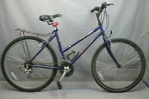 "Giant Boulder 550 MTB Bike Large 18"" Hardtail Rigid Canti 4130 Steel US Charity!"