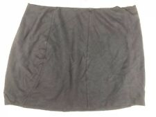 Country Road Medium Ladies black mini skirt elastic waist, viscose nylon
