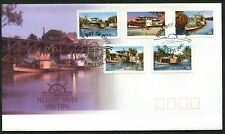 AUSTRALIA - 2005 'MURRAY RIVER SHIPPING' Self Adhesive First Day Cover [C1443^]