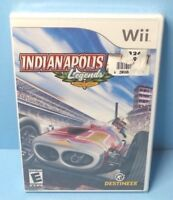 Indianapolis 500 Legends (Nintendo Wii, 2007) BRAND NEW FACTORY SEALED