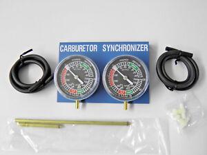 Vergaser-Synchrontester 25-tlg synchronisieren Syncrontester einstellen Werkzeug