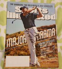 Jordan Spieth signed Sports Illustrated Major Drama June 29, 2015 issue no label