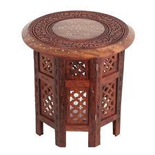 Orientalischer Beistelltisch Tisch Marokkanischer Indischen Sheeshamholz Nail