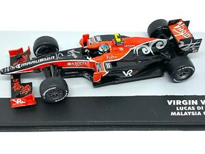1:43 Scale Virgin VR-01 F1 Diecast Model - Lucas Di Grassi 2010 Grand Prix Car