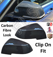 3416fea3701d BMW 3 SERIES F30 F31 F34 REPLACEMENT WING MIRROR COVERS 12-16 CARBON FIBRE  LOOK (Fits  BMW 1 Series)