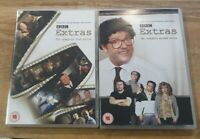 BBC Comedy - Extras: The Complete Series 1&2 DVD **FREE POSTAGE**