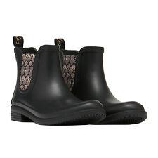 Joules Rutland Womens Boots Wellington - Black All Sizes