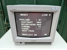 Sony PVM-14N5MDE Color Video Monitor in good working condition