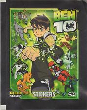 FIGURINE STICKERS BEN 10 TEN • 50 BUSTINE MERLIN 2009