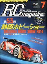 RC magazine 2014 July 7 Japan Book Japanese Shizuoka Hobby Show