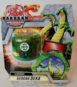 Bakugan Geogan Rising GEOGAN DEKA VIPERAGON Action Figure New 2021