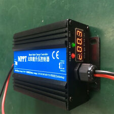 MPPT Boost Solar Charge Controller 24/36/48/60/72V  12V 24V Auto work with LCD