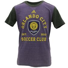 MLS Adidas Orlando City SC Kids Youth Size Official T-Shirt New With Tags